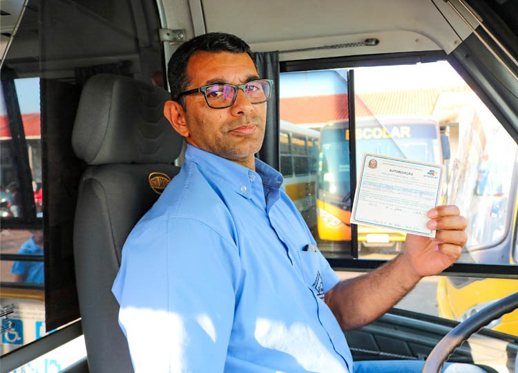Transporte Escolar do Município tem autorização renovada pelo DETRAN