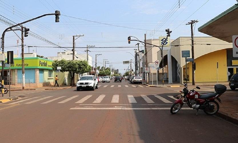 Centro de Cândido Mota — Foto: Divulgação/Prefeitura Municipal de Cândido Mota