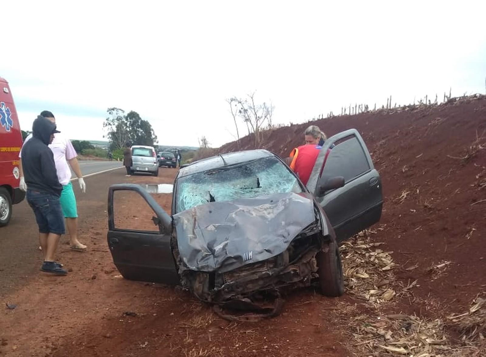 Jovens foram atropelados em Santa Cruz do Rio Pardo — Foto: Arquivo pessoal