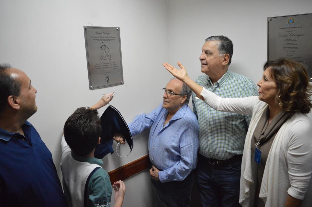 Inauguração do Centro Cirúrgico da Santa Casa de Assis — Foto: Divulgação