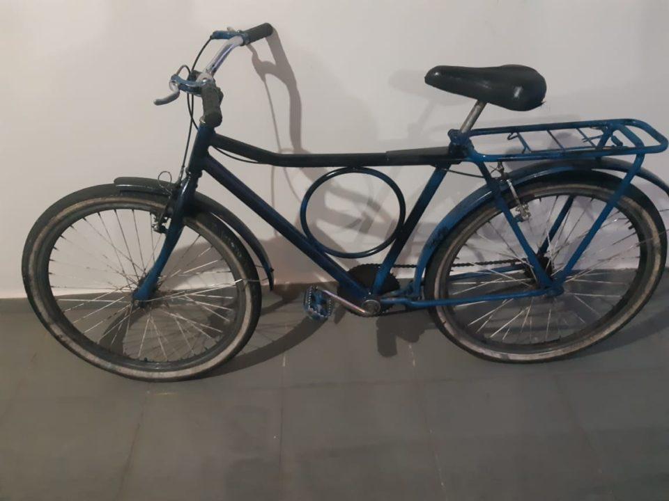 Bicicleta foi recuperada — Foto: Divulgação