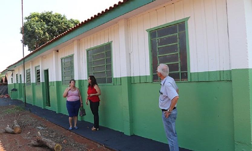 Cândido Mota investe na manutenção e reforma de escolas municipais — Foto: Divulgação/Prefeitura Municipal de Cândido Mota