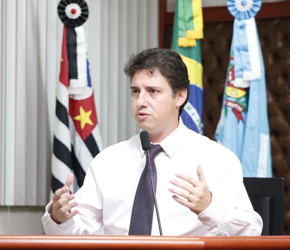 Presidente da Câmara, Alexandre Cachorrão é autor do projeto — Foto: Divulgação/Câmara Municipal de Assis