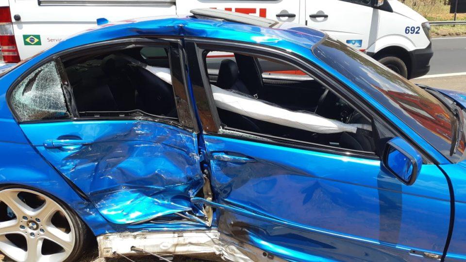 Condutor da BMW estava com CNH cassada — Foto: Divulgação