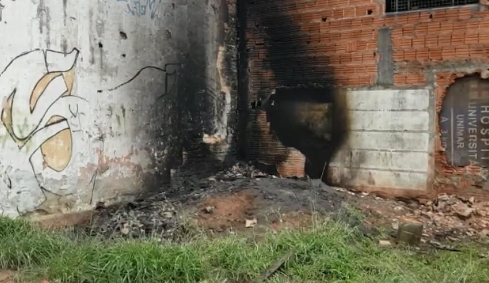 Em nota, a prefeitura de Marília disse que a atual administração não utiliza o depósito — Foto: Alcyr Netto/TV TEM