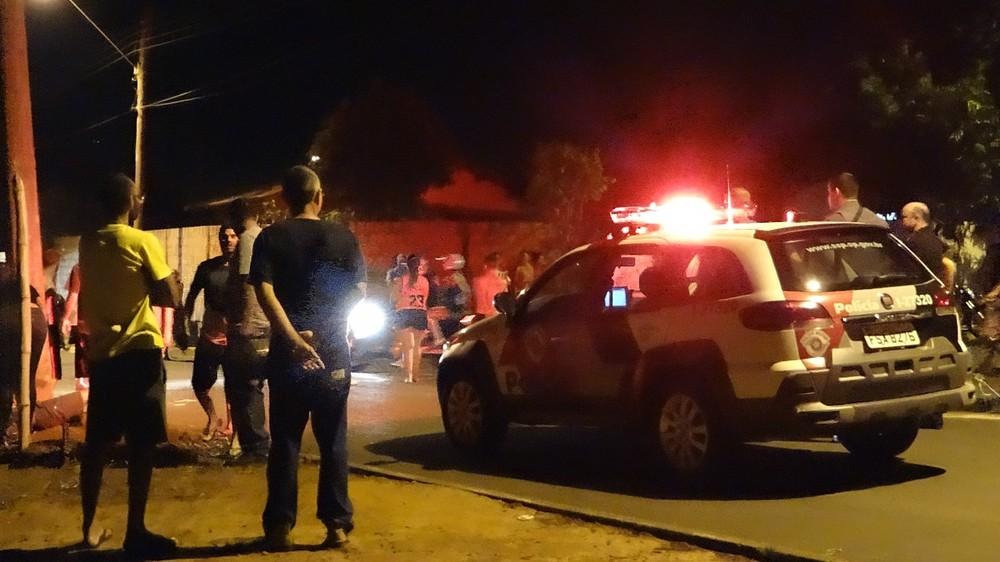 Família alega que houve perseguição da PM antes do acidente em Bocaina — Foto: Antônio Carlos Bispo do Carmo/Divulgação