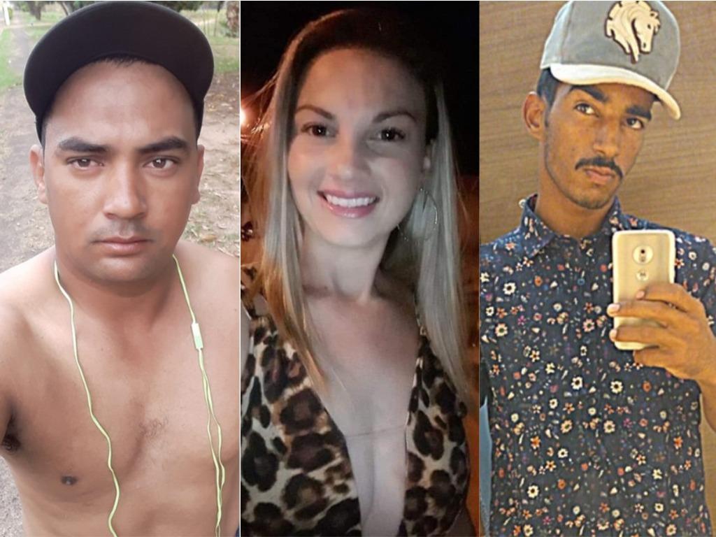 Adriano Marques Cândido, Michele Ramos Guimarães e Renan Mariano morreram neste domingo, dia 3 — Foto: Arquivo pessoal