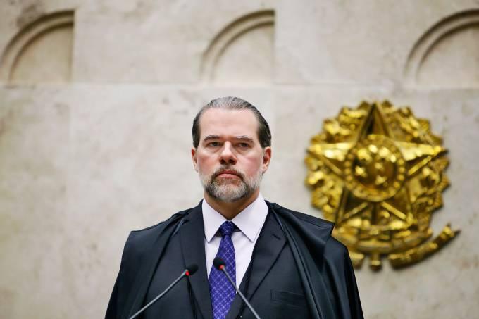 Toffoli: ministro do STF deu voto decisivo no julgamento (Fellipe Sampaio /SCO/STF/Divulgação)