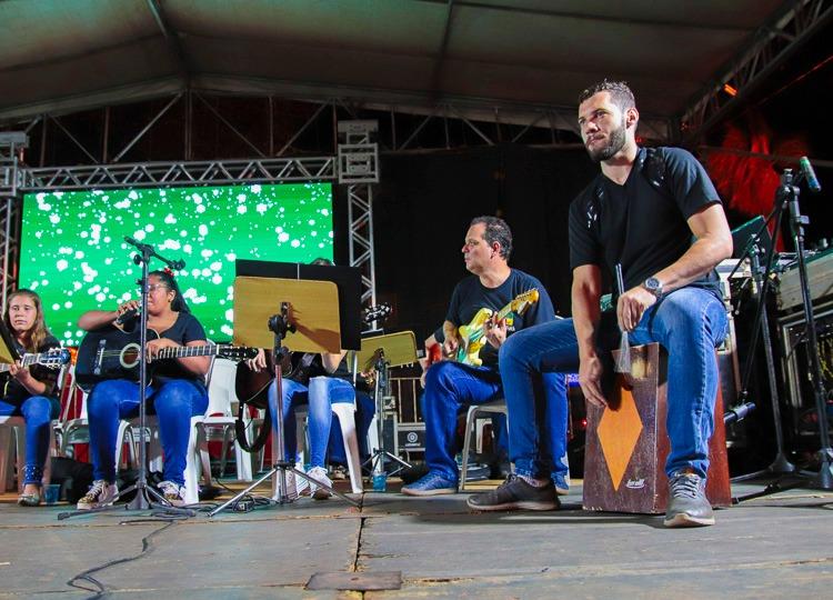 Apresentações da Cantata reúnem grande público com show de talentos — Foto: Divulgação/Prefeitura Municipal de Assis