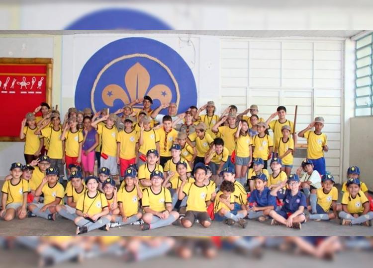 Escoteiros Cambuy se apresentam na Unesp quarta-feira, 11 — Foto: Divulgação/Prefeitura Municipal de Assis