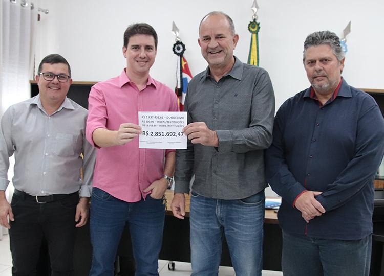 Câmara devolve quase R$ 3 milhões para a Prefeitura — Foto: Divulgação/Prefeitura Municipal de Assis