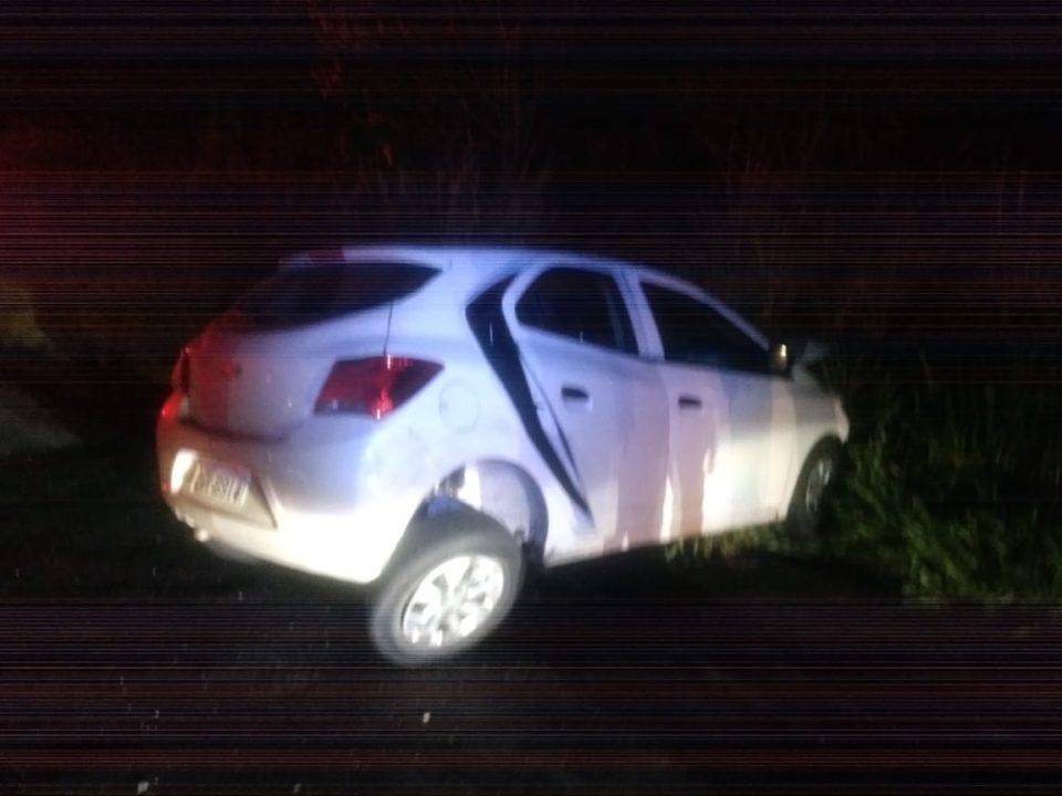 Ocupantes do outro veículo tiveram ferimentos leves (Foto: Diego Pereira/Portal Mais Tupã)