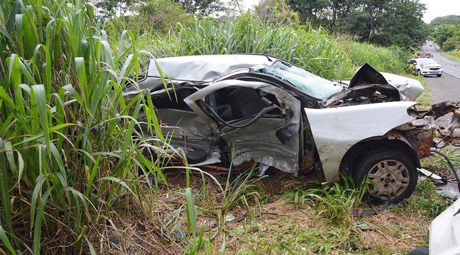 Motociclista de 30 anos morre em acidente na rodovia Paraguaçu/Assis — Foto: Manoel Moreno