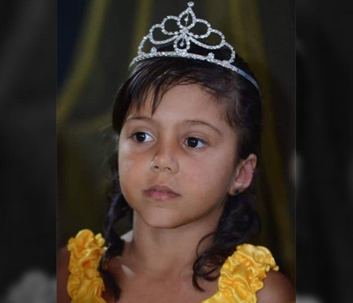 Maria Vitória Oliveira da Cruz faleceu na noite de sexta-feira, dia 17