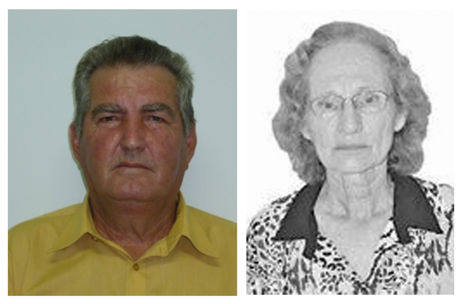 Valfrido e Maria Vanda foram mortos a tiros em Santo Expedito — Foto: Reprodução/Câmara Municipal/Eleições2016