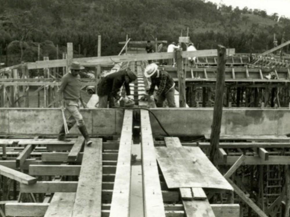 Usina hidrelétrica de Chavantes completa 50 anos de funcionamento — Foto: Divulgação/Usina HE de Chavantes