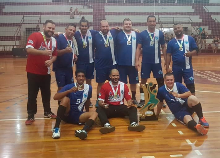 Equipe masculina de Handebol de Assis é campeão da 1ª Copa Handebol de Ourinhos — Foto: Divulgação/Prefeitura Municipal de Assis