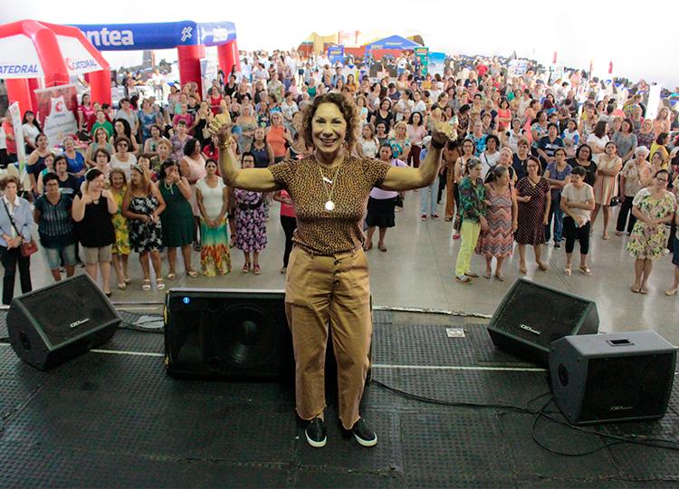 Projeto Saúde e Vida reúne quase 500 mulheres em comemoração ao Dia da Mulher — Foto: Divulgação/Prefeitura Municipal de Assis