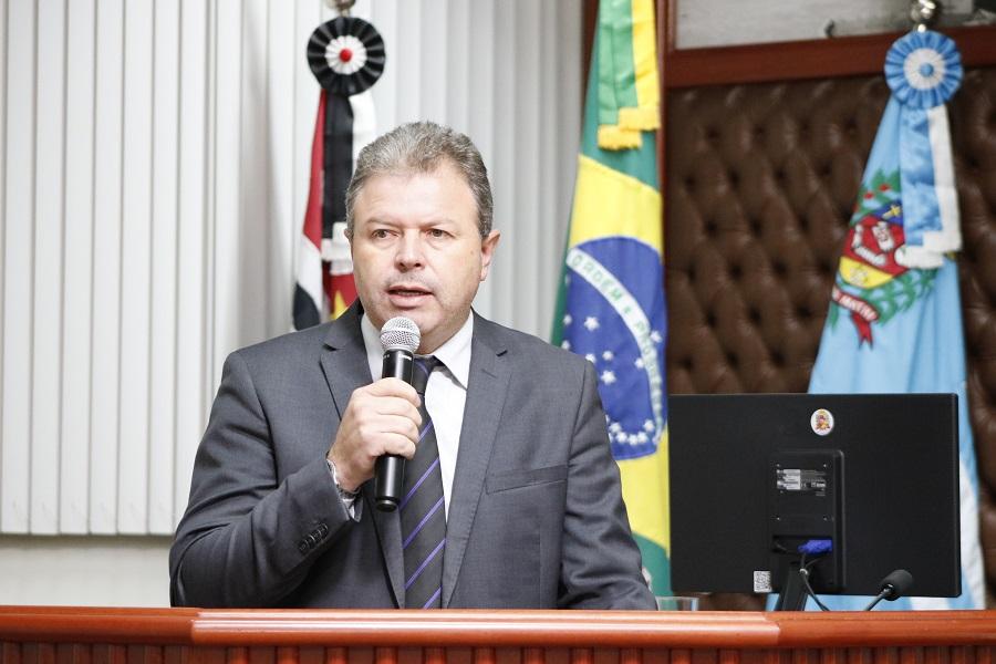 Vereador Célio Diniz solicita abertura do Hemocentro aos sábados — Foto: Câmara Municipal de Assis