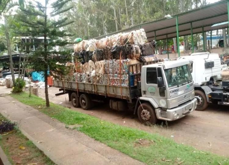 Coleta seletiva passa a ser em forma de arrastão a partir de segunda — Foto: Divulgação/Prefeitura Municipal de Assis