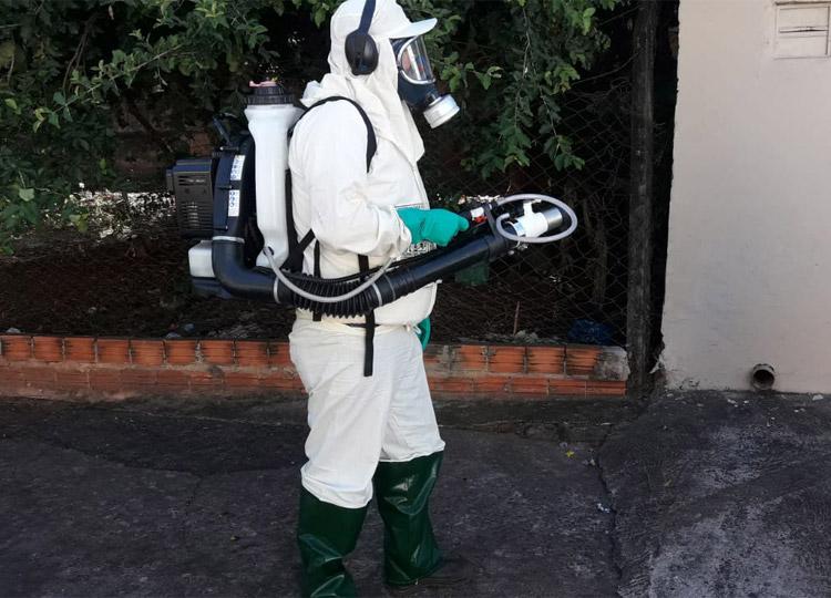 Prefeitura retoma nebulização contra Aedes em Assis — Foto: Divulgação/Prefeitura Municipal de Assis