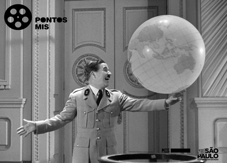 Clássico com Charles Chaplin será exibido no sábado, 9, seguido de bate-papo — Foto: Divulgação/Prefeitura Municipal de Assis
