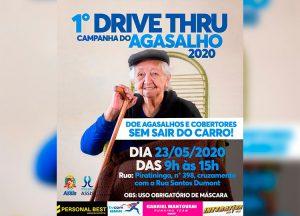 Sábado tem Drive Thru de doação de agasalho — Foto: Divulgação/Prefeitura Municipal de Assis