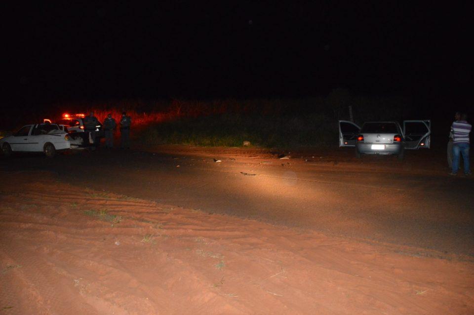 Acidente aconteceu na noite desta quarta-feira — Foto: Manoel Moreno/I7 Notícias