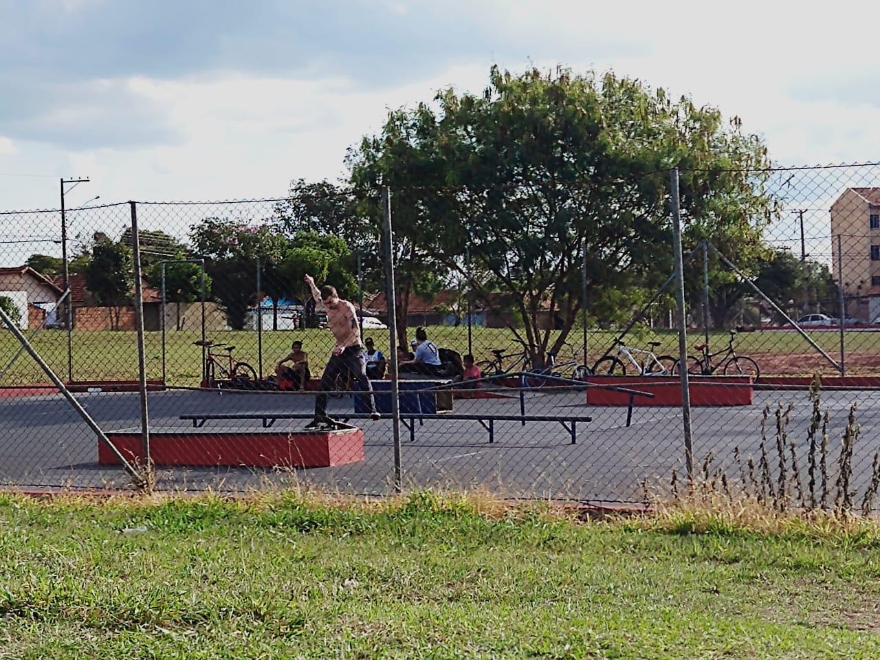 Quadra/pista de Skate - Parque das Acácias