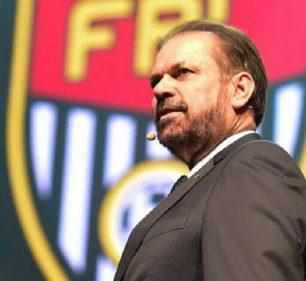 Reinaldo Carneiro, presidente da Federação Paulista