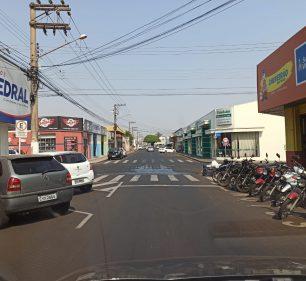 Avenida Armando Salles de Oliveira em Assis — Foto: Assis Notícias