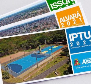 Os carnês impressos começam a ser entregues nos próximos dias — Foto: Divulgação | Prefeitura Municipal de Assis