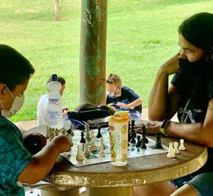 Prefeitura faz orientação esportiva no Parque Buracão e atividades online — Foto: Divulgação | Prefeitura Municipal de Assis