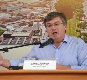 Prefeito de Marília, Daniel Alonso, do PSDB — Foto: Reprodução | Marília Notícia