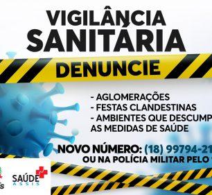COVID-19: Denúncias de aglomerações podem ser realizadas através de WhatsApp, 0800 e 190 — Foto: Divulgação   Prefeitura Municipal
