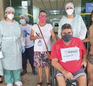Cândido-motense recebe alta após 43 dias internado por conta da Covid-19 — Foto: Arquivo Pessoal