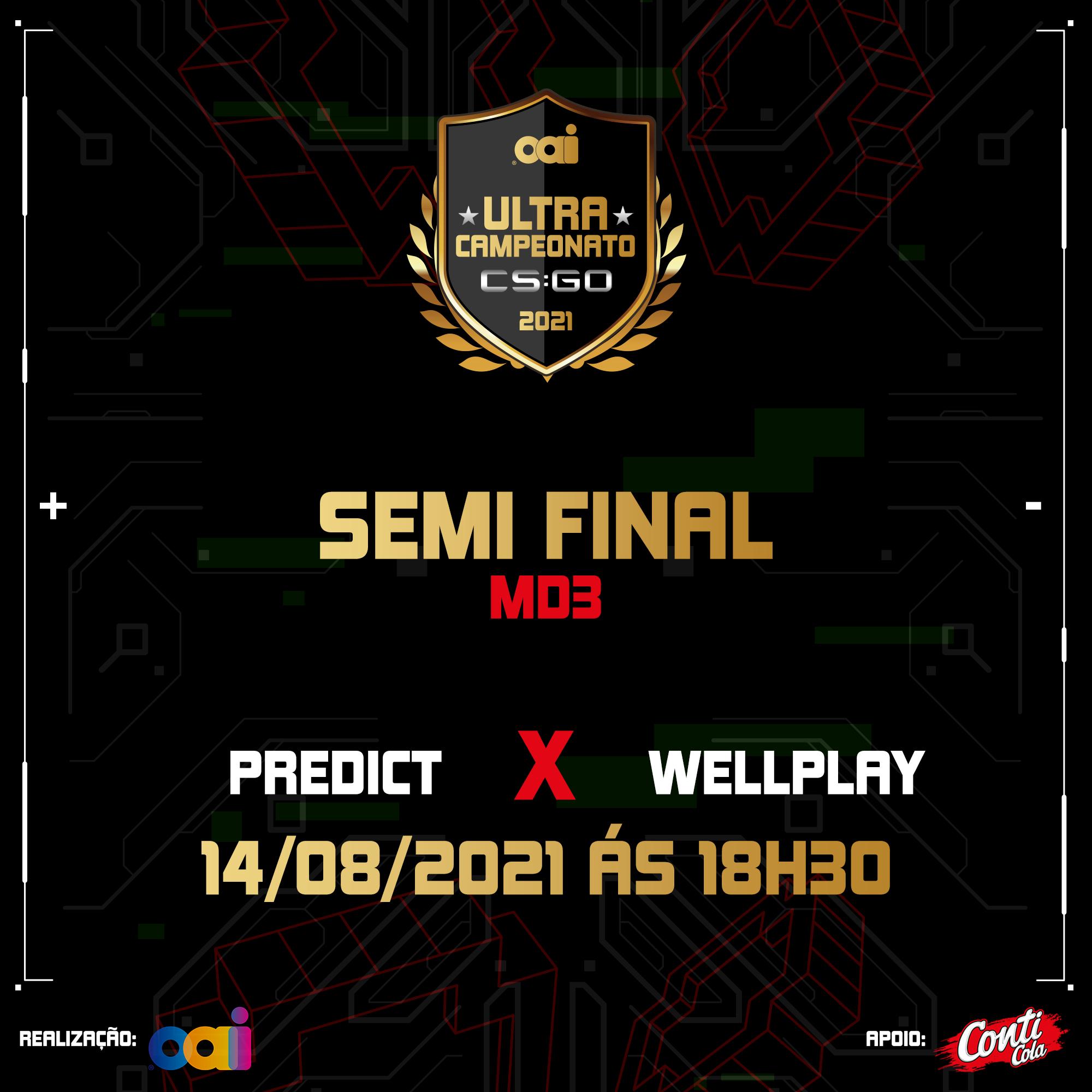 Etapa 1 da semifinal acontece no dia 14 de agosto