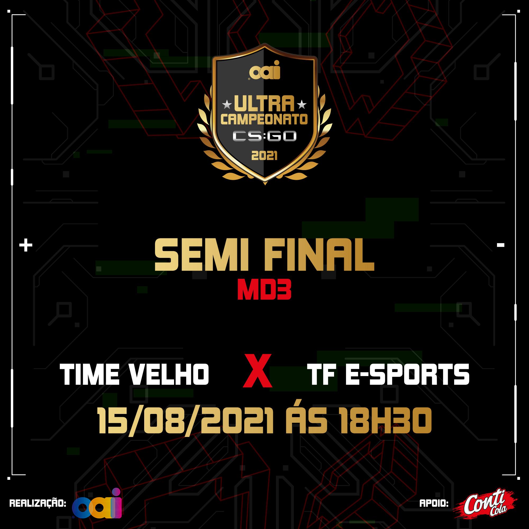 Etapa 2 da semifinal acontece no dia 15 de agosto